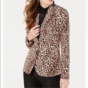 Guess Cheetah Blazer